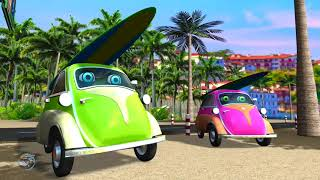 Planets Song  Learning Video For Kids  Car Cartoons