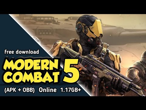 (1.17GB) Modern Combat 5 Mod Apk + Obb For Android Free Download