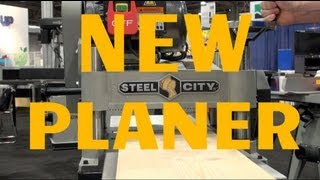 "15"" Thickness Planer: New Thickness Planer From Steel City 40255"