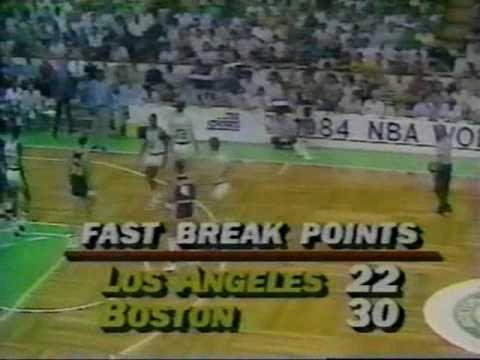 1984 NBA Finals: Lakers at Celtics, Gm 5 part 11/14