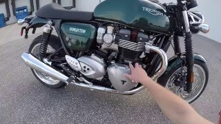 2016 Triumph 1200 Thruxton - First Ride - Eurotek OKC