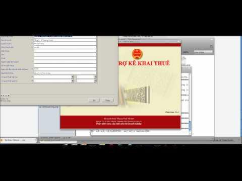 Cài đặt phần mềm kê khai thuế HTKK lên Ubuntu