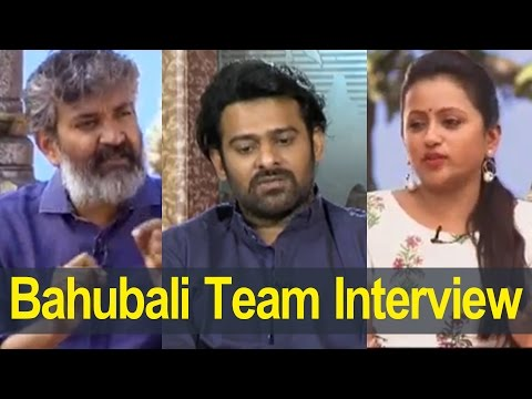 Bahubali 2 Conclusion Maha Shivaratri Interviews : SS Rajamouli : Prabhas : Anchor Suma
