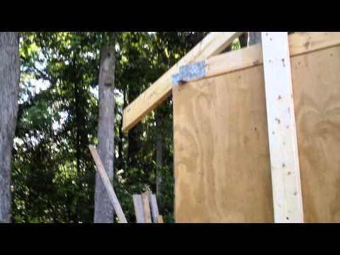 Building a 10x12 Shed - Part 10: Trusses