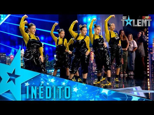 Este grupo sorprende a Risto Mejide bailando los SILENCIOS   Inéditos   Got Talent España 2021
