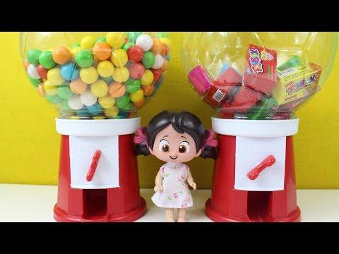 Niloyanın Büyük Şeker Ve Toybox Makinesi Var Maşalar Şeker Yiyor Niloya İzle Maşa Yeni Bölüm
