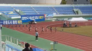 제25회 전국실업.대학육상대회 여일 100m 예선 2조