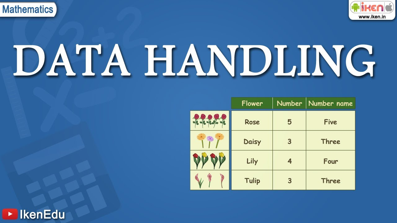hight resolution of Math for kids: Learn Data Handling   iKen   iKen App   iKen Edu - YouTube