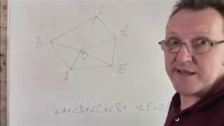 Многоугольник. Сумма углов многоугольника