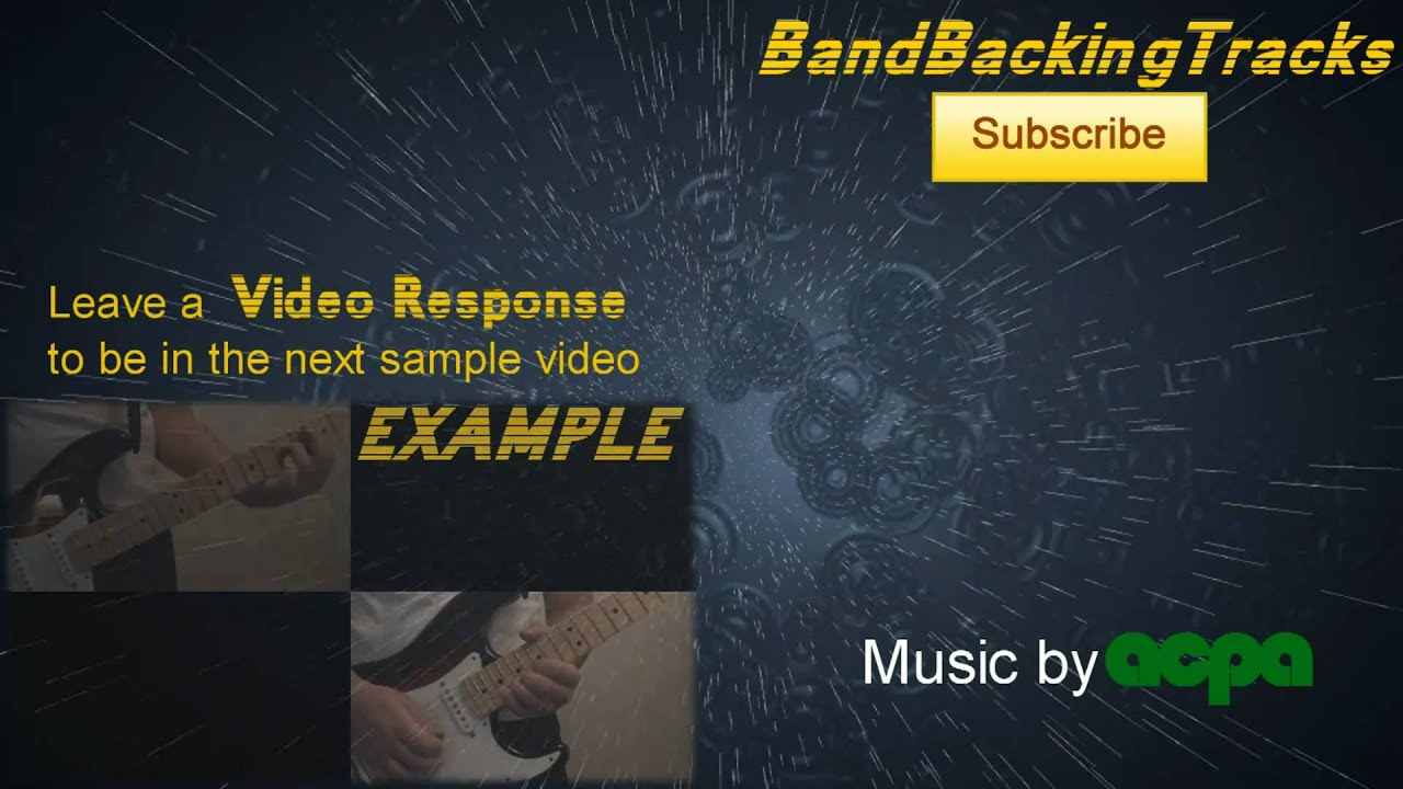 Backing track [G Minor] - FREE DOWNLOAD