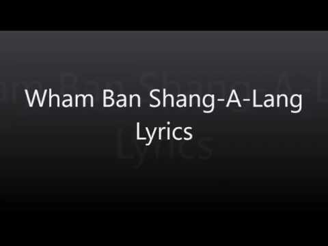 Wham Bam Shang-A-Lang Lyrics - Silver
