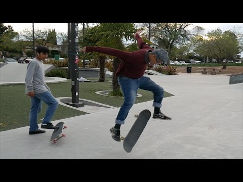Old Man Kills It At The Skate Park.... Do You Even Skate Bro?