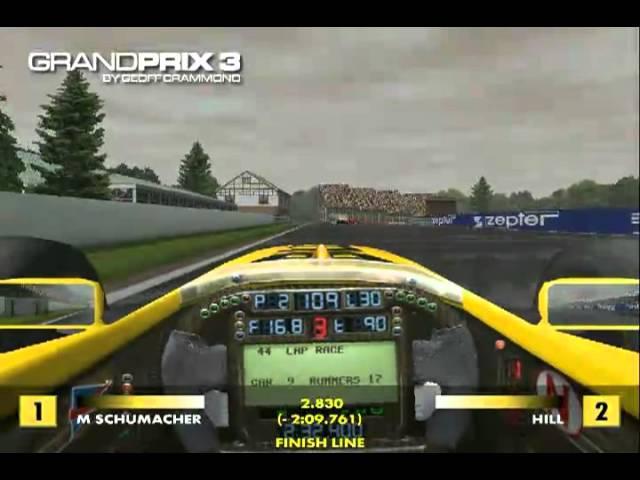 Microprose Grand Prix 3 by Geoff Crammond