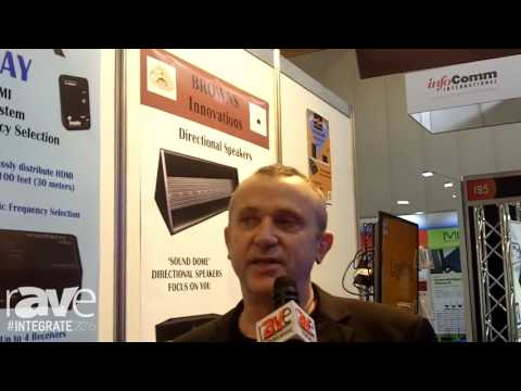 Integrate 2016: EAV Technology Demos the Browns Innovation Sonic Beam SB47