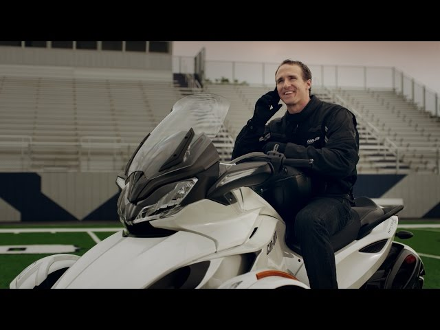 Can-Am Spyder: Drew Brees Contractually Forbidden