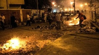 Egypt protests seven die in clashes in Cairo