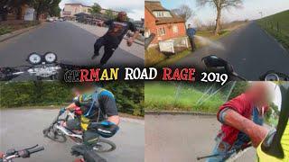 German Road Rage, Police & Close Calls 2019