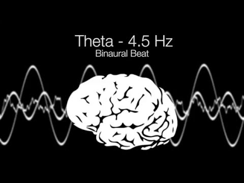 'Dreams' Theta Binaural Beat - 4.5Hz (1h Pure)