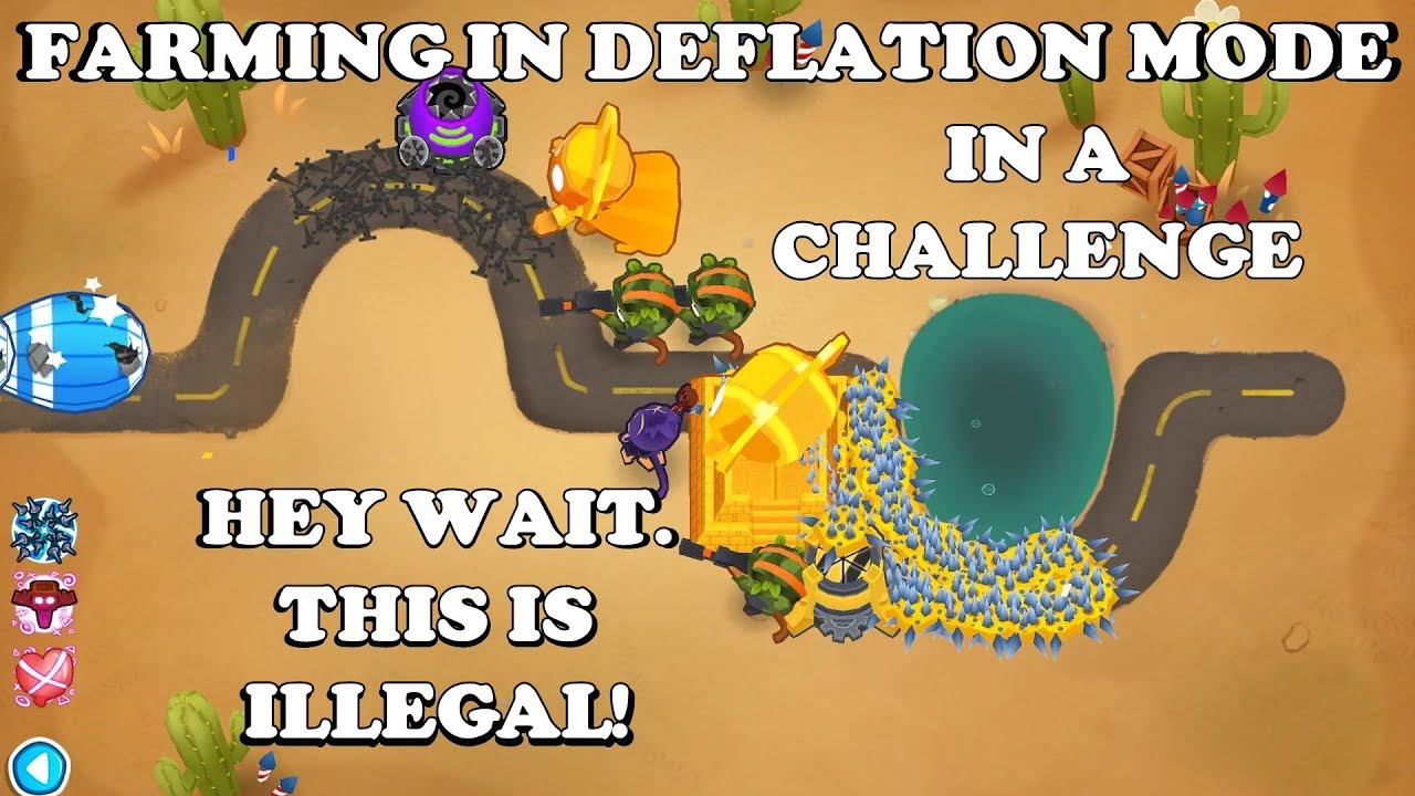 Bloons TD 6 - To beat this you need to farm money in *deflation mode* (BTD6  v11)