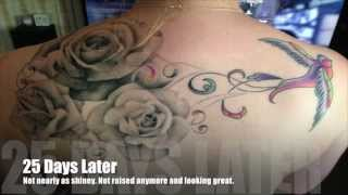 My Tattoo Healing Process With Pictures!
