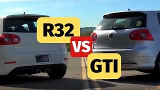 VW R32 vs. VW GTI