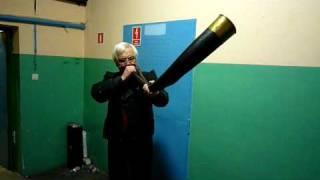 Mr. Jerzy Szpejankowski & 200 years old Horn
