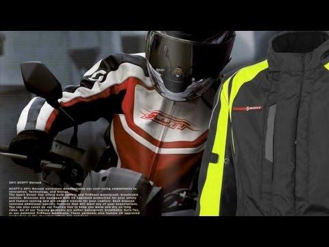Scott Motorsports - Neuheiten 2012 - Jacken, Helme, Protektoren