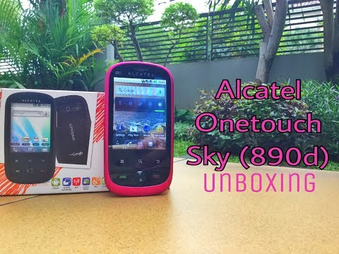 A $12 Android phone exists? | Alcatel onetouch sky (890d) unboxing
