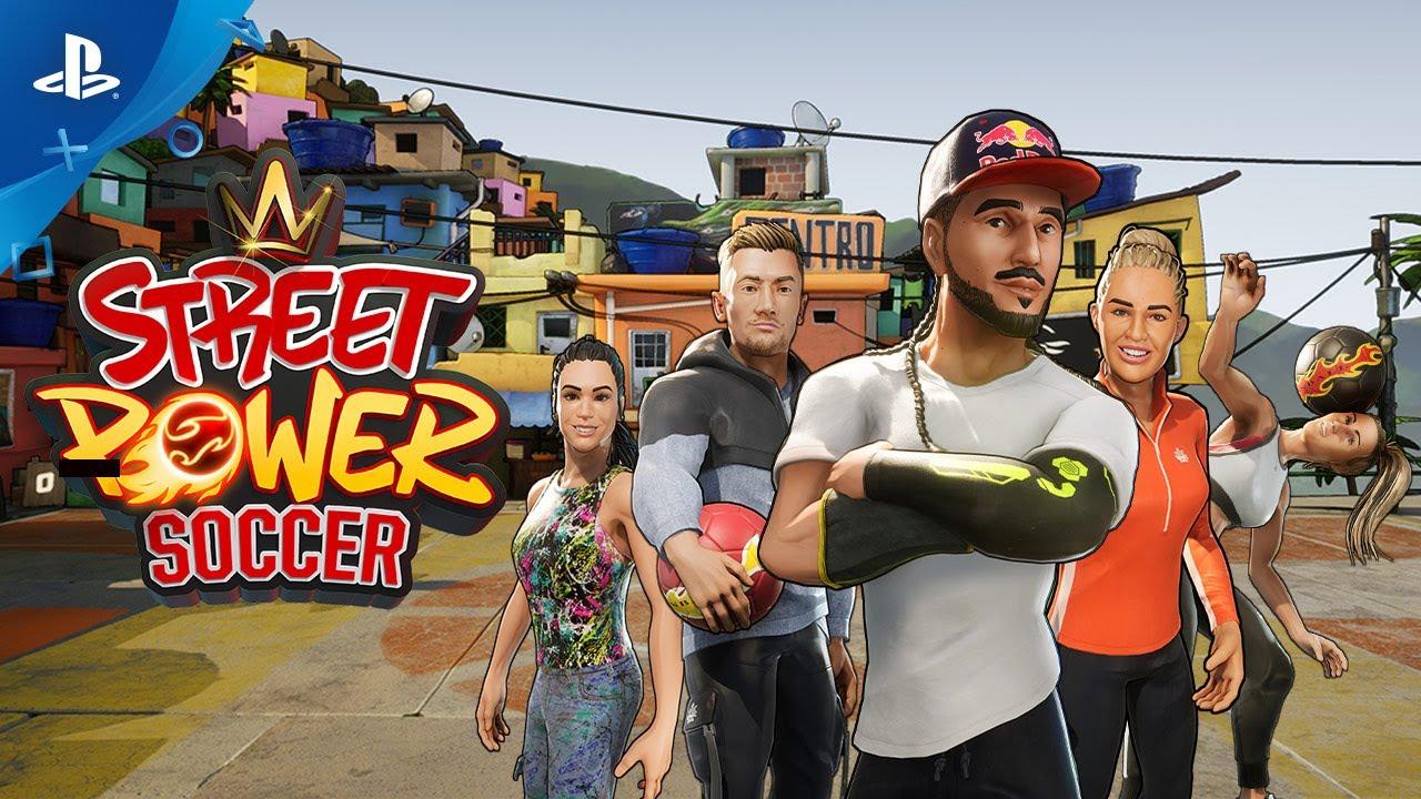 Street Power Soccer - Reveal Trailer | PS4 - YouTube