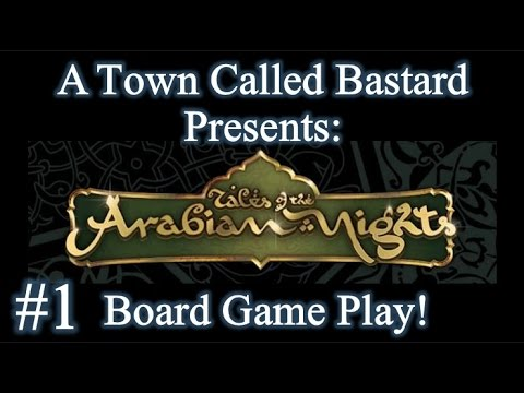 Tales Of The Arabian Nights - Board Game Play (Part 1)