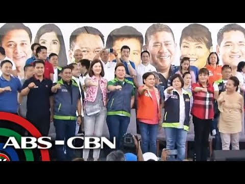 TV Patrol: Hugpong ng Pagbabago nangampanya sa unang araw ng campaign period