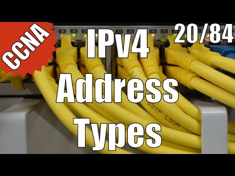 CCNA/CCENT 200-120: IPv4 Address Types 20/84 Free Video Training Course