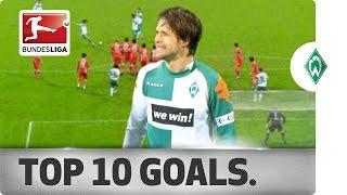Top 10 Goals - Werder Bremen
