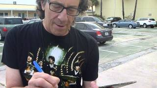 Gary Lewis, musician from The Playboys, son of Jerry Lewis, signing autographs - TopSignatures.com