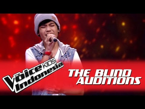 Nuca  All of Me  I The Blind Auditions I The Voice Kids Indonesia GlobalTV 2016