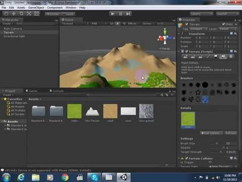 Unity3d Tutorial In Hindi - Urdu - Develop 3d Game In 10 Minutes In Unity - Part 1