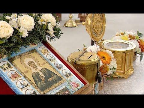Мощи Матроны Московской прибыли на Кубань