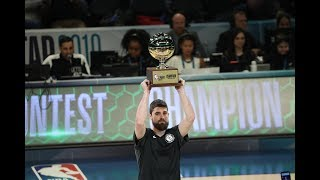 Joe Harris Beats Stephen Curry And Wins 2019 3-Point Contest | All-Star Weekend thumbnail