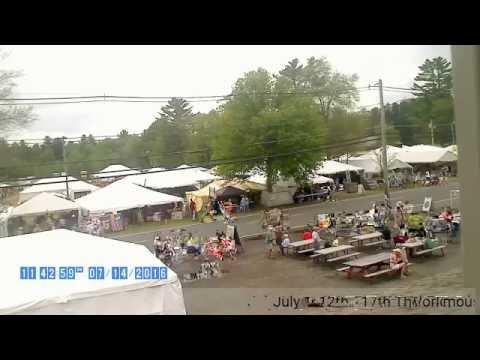 BrimfieldAntiqueFleaMarket.com Live Stream July 2016 - Brimfield MA