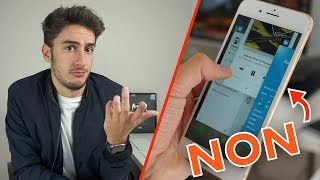 Les mauvaises habitudes avec nos smartphones