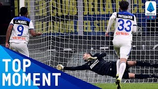 Handanović Heroics Help Inter Hold Out for a Point | Inter 1-1 Atalanta | Top Moment | Serie A TIM
