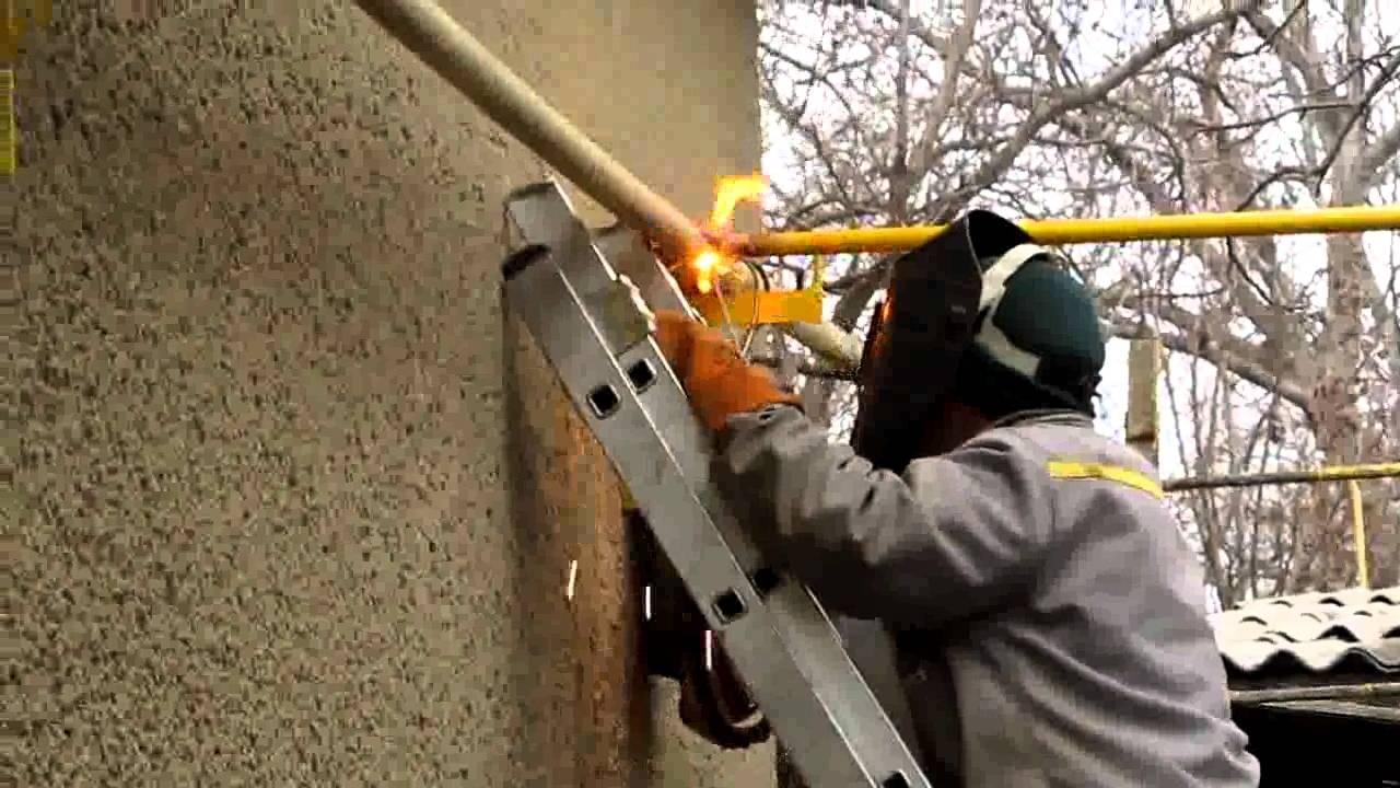 Как узаконить врезку в газопровод