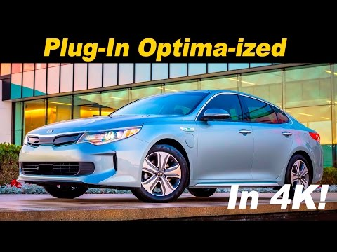 2017 Kia Optima Plug In Hybrid Review and Road Test | Detailed in 4K UHD