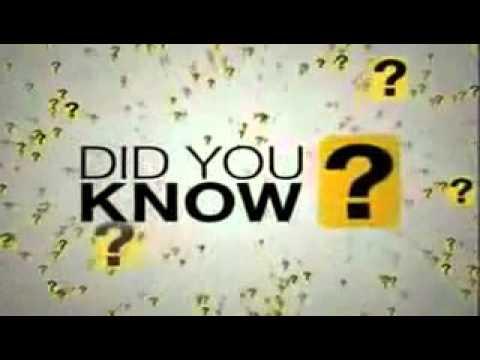 Wissenswertes interessant, wusstest du schon?