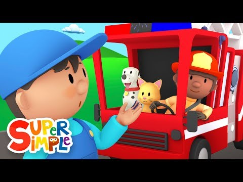 Thumbnail: Fiona's Fire Truck | Carl's Car Wash Ep.5 | Cartoon for kids