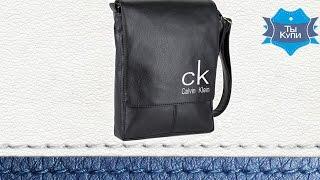 Видео обзор мужской черной сумки-планшета с вышивкой (SBoss_ck)