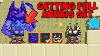 New Spirit of Anubis RECIPE + FULL SET!! (PROFIT!) | GrowTopia