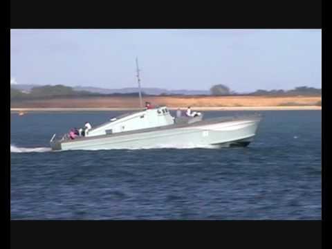 1942  British Powerboat Company 22m Motor Gun Boat MGB 81
