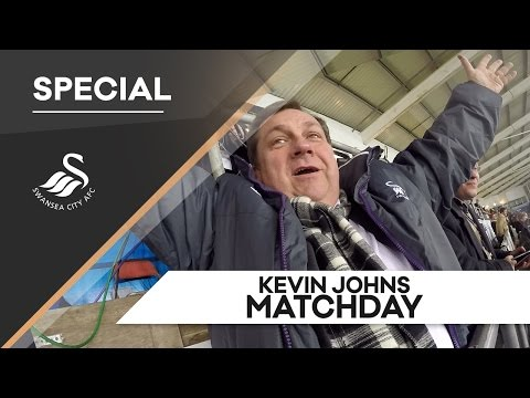 Swans TV - Matchday with Kevin Johns MBE