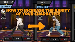 Video How to Increase the Rarity of your Characters! - The God of Highschool 2017 download MP3, 3GP, MP4, WEBM, AVI, FLV Maret 2018